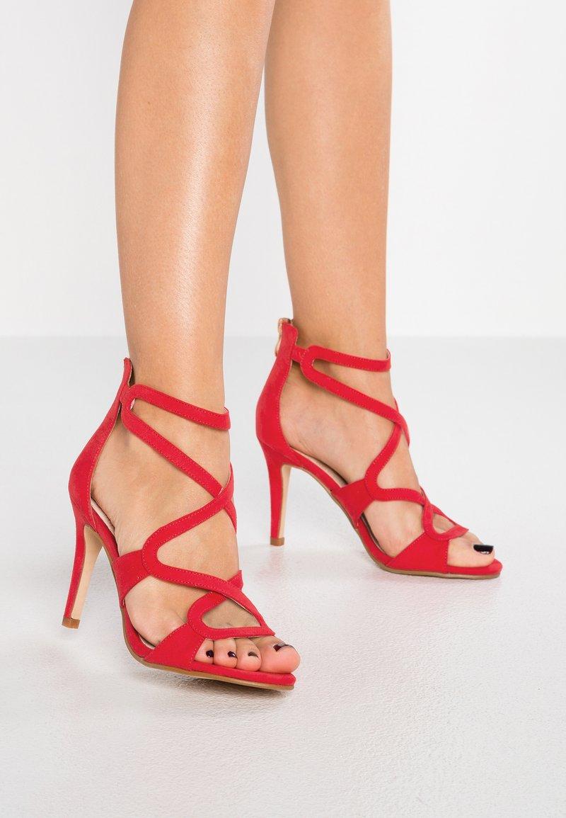 Buffalo - High Heel Sandalette - red