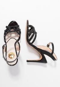 Buffalo - AFTERGLOW - Sandaler med høye hæler - black - 3