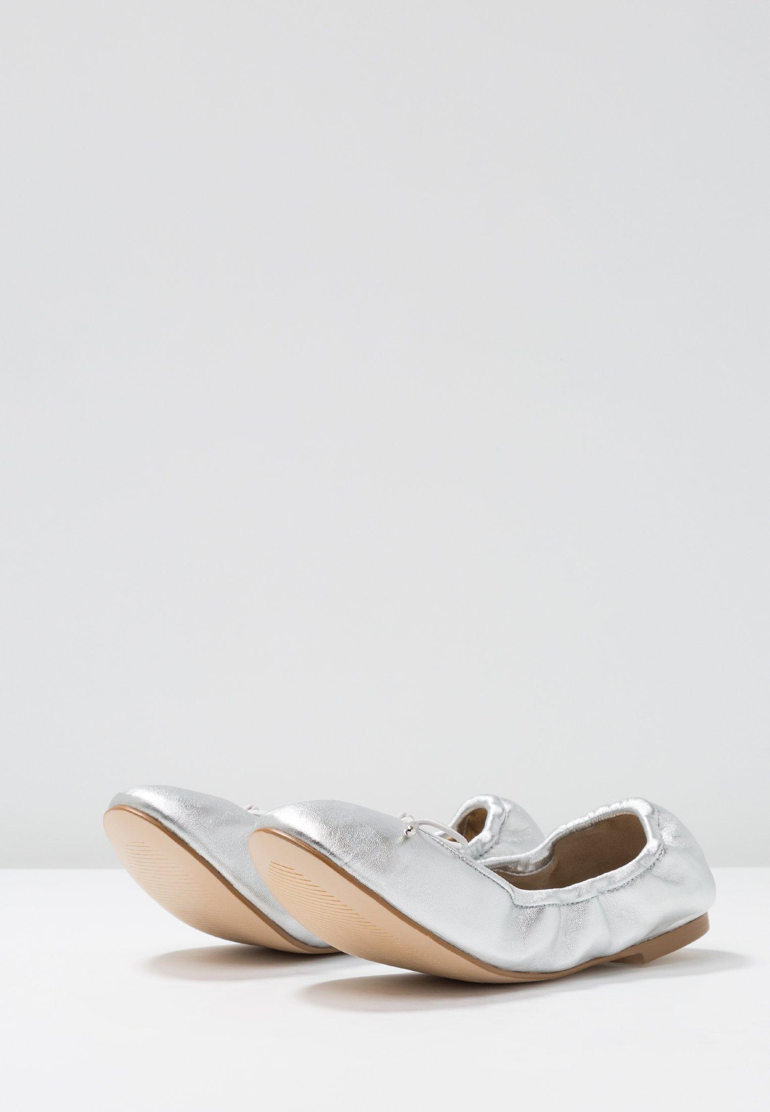 Buffalo Amalia - Ballerines Silver