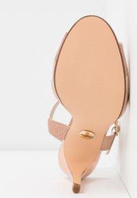 Buffalo - AIDA - Sandály na vysokém podpatku - rosegold - 6