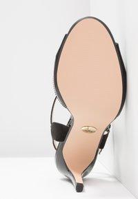 Buffalo - AIDA - Sandaler med høye hæler - black - 6