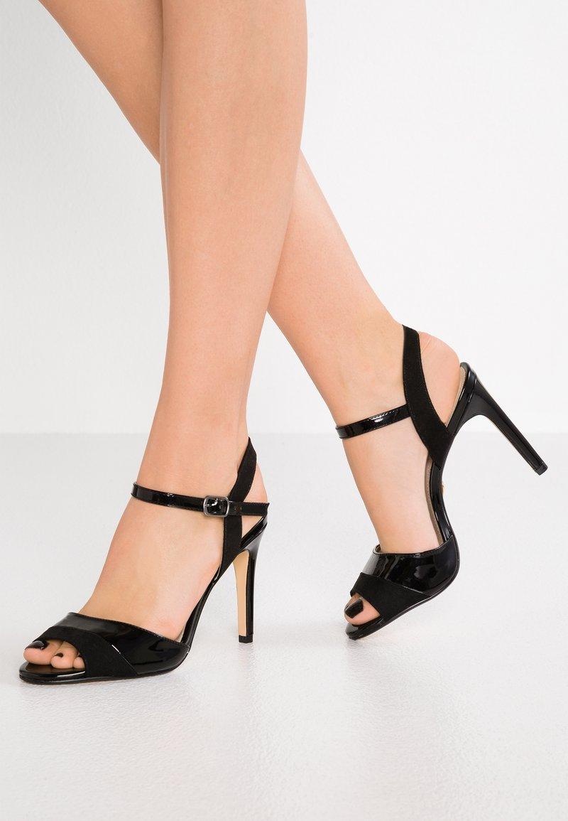 Buffalo - AIDA - Sandaler med høye hæler - black