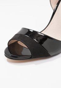 Buffalo - AIDA - Sandaler med høye hæler - black - 2