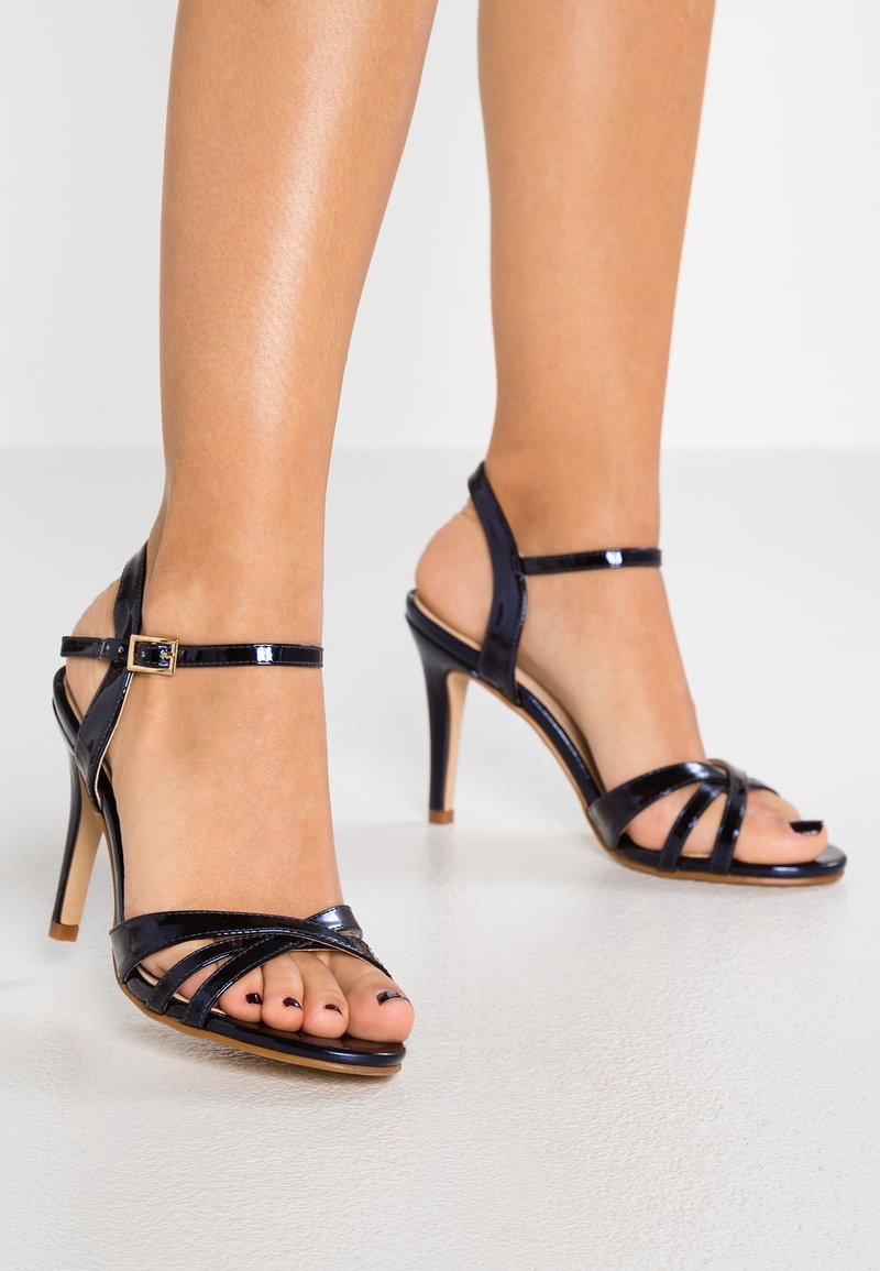 Buffalo - ANJA - High Heel Sandalette - navy