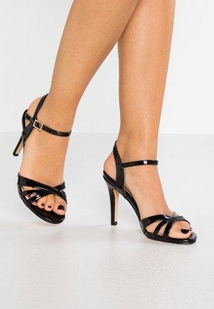 ANJA - Sandaler med høye hæler - black