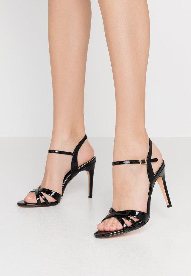 ANJA - High heeled sandals - black