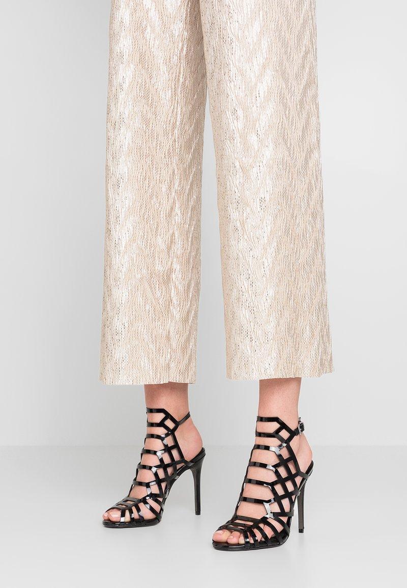 Buffalo - ELRICA - High heeled sandals - black
