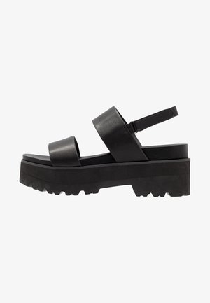 ELITA - Sandales à plateforme - black