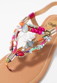 Buffalo - ELISSE - T-bar sandals - multicolor - 2