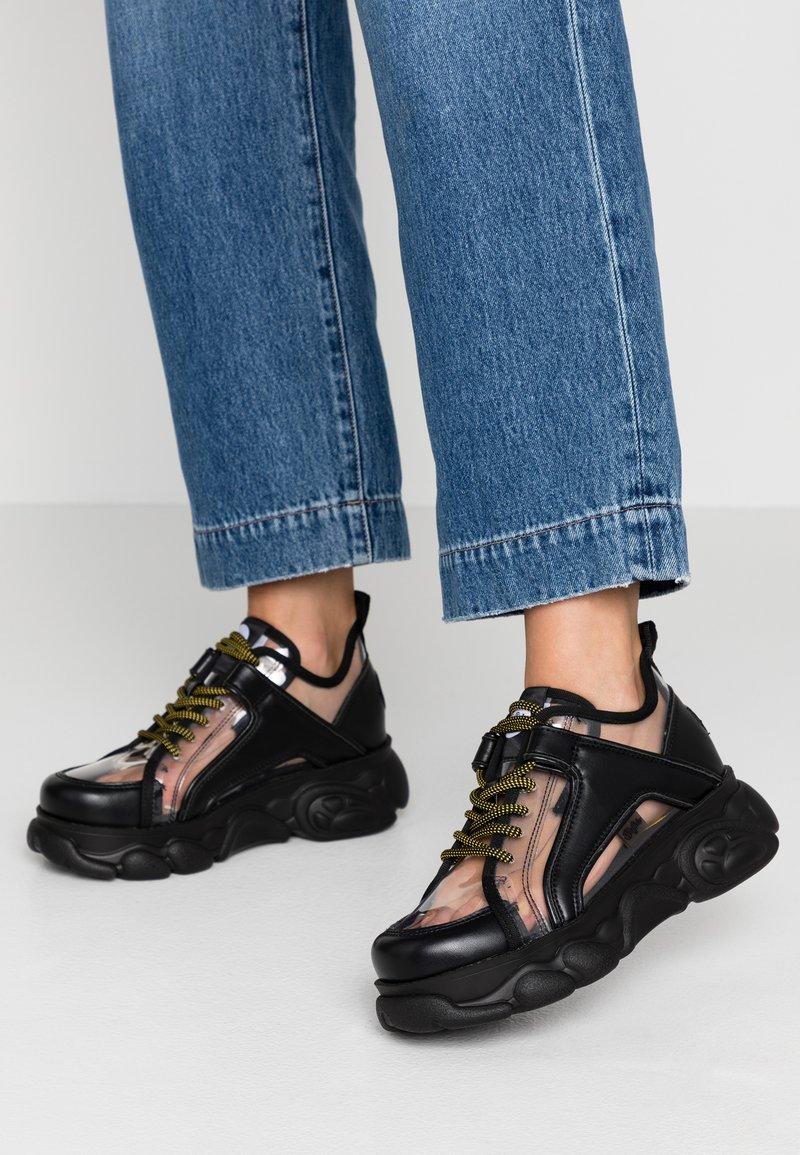 Buffalo - CORIN - Sneaker low - transparent/black