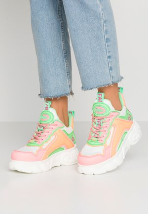 CHAI - Matalavartiset tennarit - neon multicolor