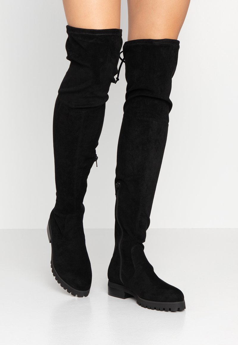 Buffalo - FLORY - Over-the-knee boots - black