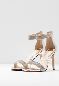 Buffalo - FRIGGA - High heeled sandals - silver - 4