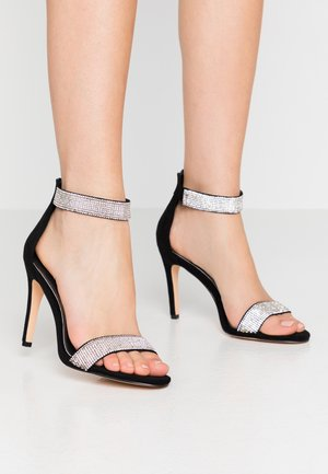 FRIGGA - High heeled sandals - black