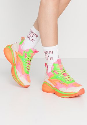 B.NCE S1 - Joggesko - multicolor neon