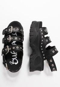 Buffalo - Platform sandals - black - 3
