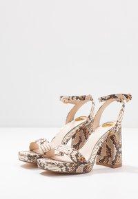 Buffalo - JOSEPHINE - Sandály na vysokém podpatku - natural/beige - 4