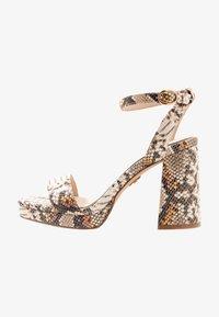 Buffalo - JOSEPHINE - Sandály na vysokém podpatku - natural/beige - 1