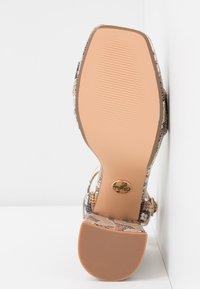 Buffalo - JOSEPHINE - Sandály na vysokém podpatku - natural/beige - 6