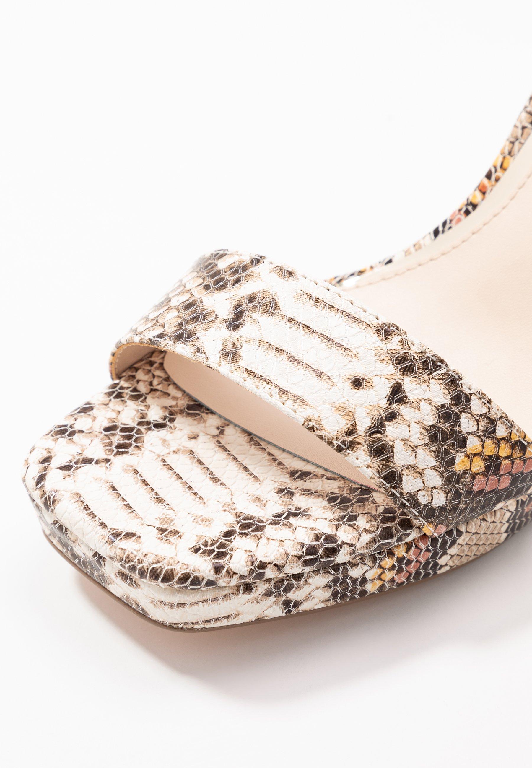 Buffalo JOSEPHINE - Højhælede sandaletter / Højhælede sandaler - natural/beige