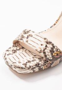 Buffalo - JOSEPHINE - Sandály na vysokém podpatku - natural/beige - 2
