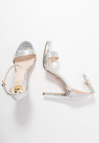 Buffalo - JANNA - High heeled sandals - silver - 3