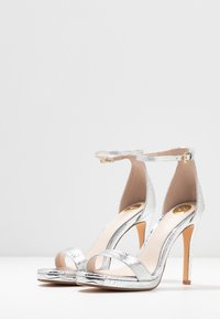 Buffalo - JANNA - High heeled sandals - silver - 4