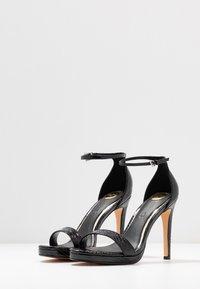 Buffalo - JANNA - Korolliset sandaalit - black - 4