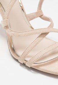 Buffalo - JAMILA - Sandály na vysokém podpatku - nude - 2