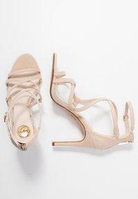 Buffalo - JAMILA - Sandály na vysokém podpatku - nude - 3