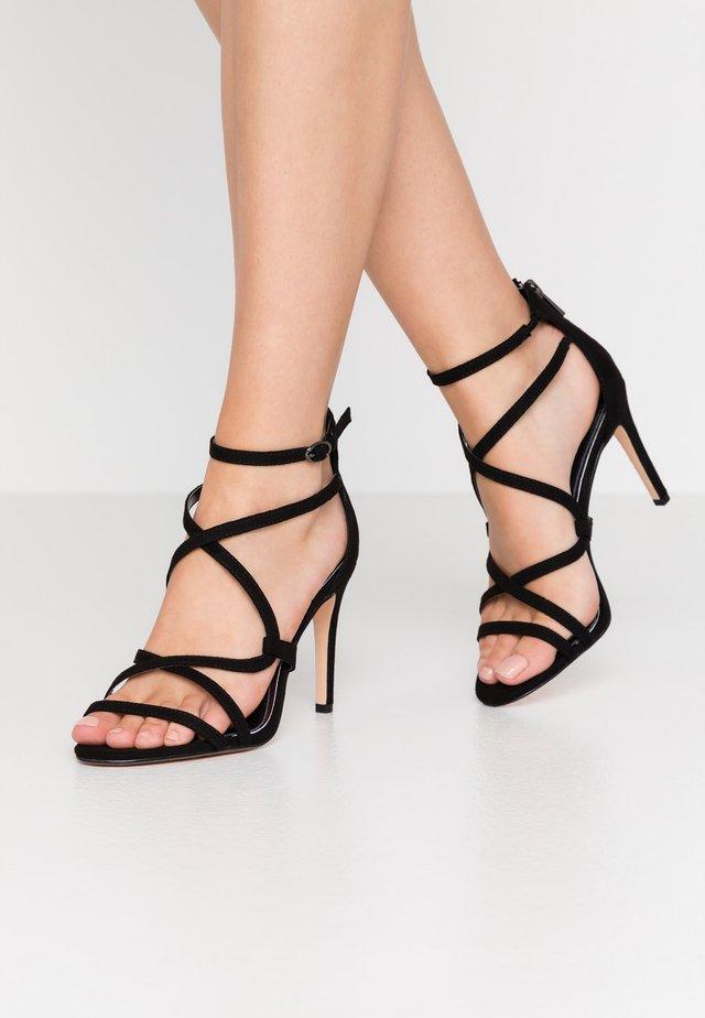 JAMILA - Sandály na vysokém podpatku - black