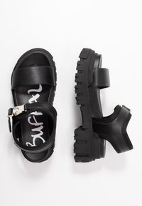 Buffalo - JOJO - Platform sandals - black - 3