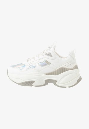 CREVIS - Trainers - white/silver