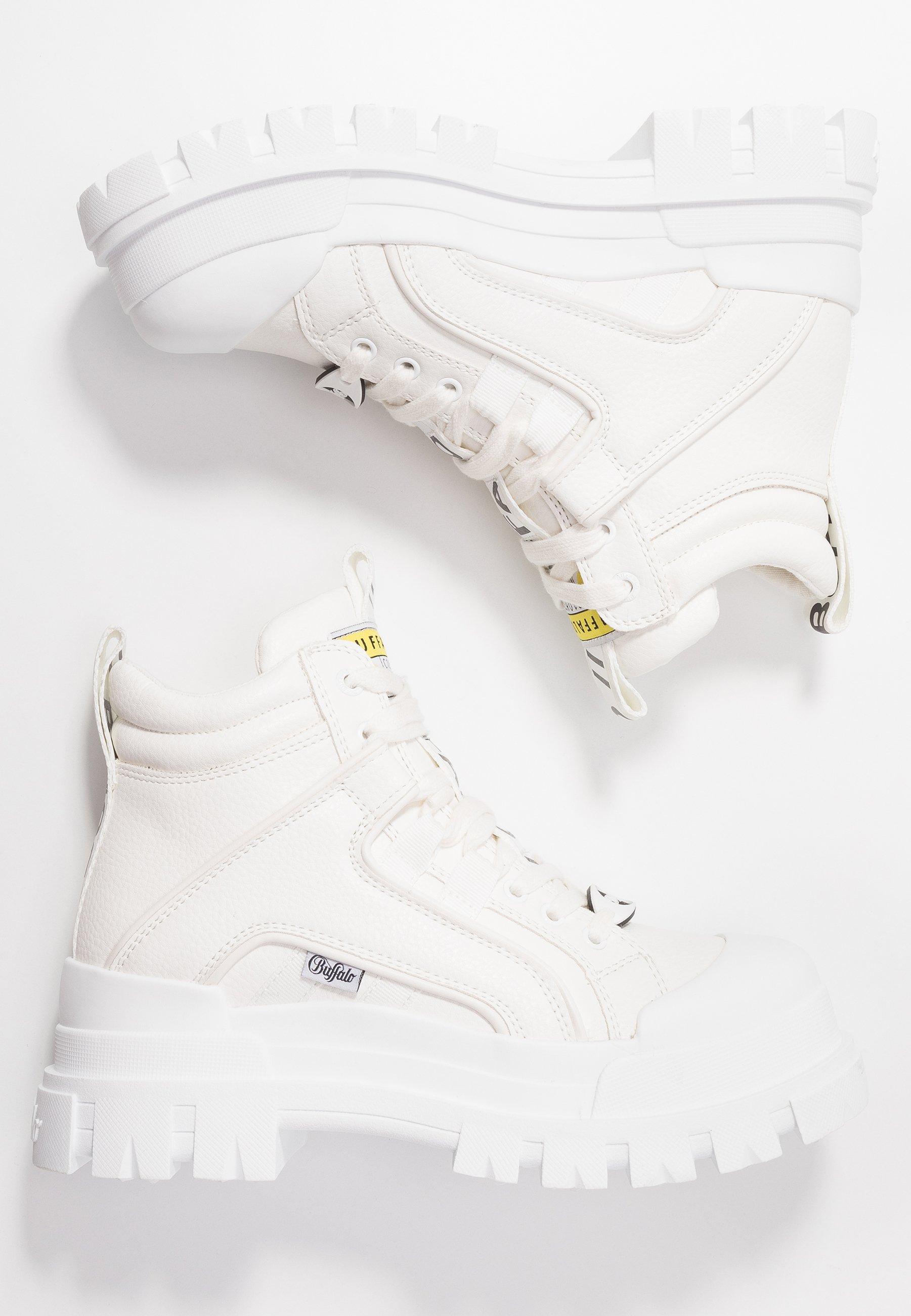 Buffalo ASPHA MID - Sneakersy wysokie - white
