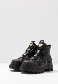 Buffalo - ASPHA MID - High-top trainers - black - 4
