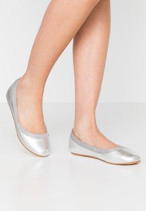 ANNELIE - Ballet pumps - silver