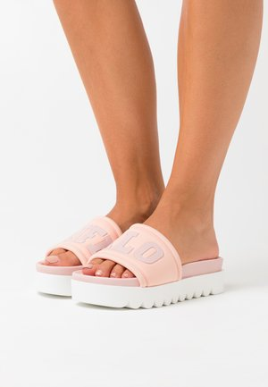 EDONA - Heeled mules - rose