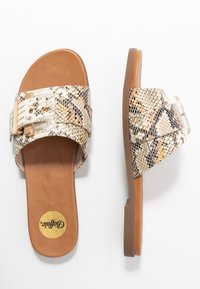 Buffalo - JOSIE - Pantofle - natural - 3