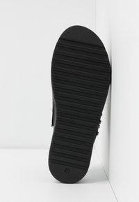Buffalo - JAYMA - Pantofle - black/silver - 6