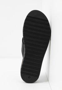 Buffalo - JAVIA - Pantofle - black - 6