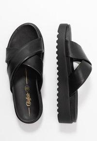 Buffalo - JAVIA - Pantofle - black - 3