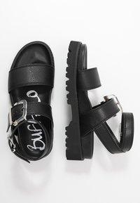 Buffalo - JIMENA - Platform sandals - black - 3
