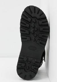 Buffalo - JIMENA - Platform sandals - black - 6
