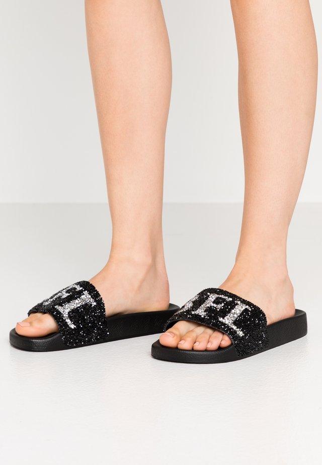 JOELLE - Pantofle - black