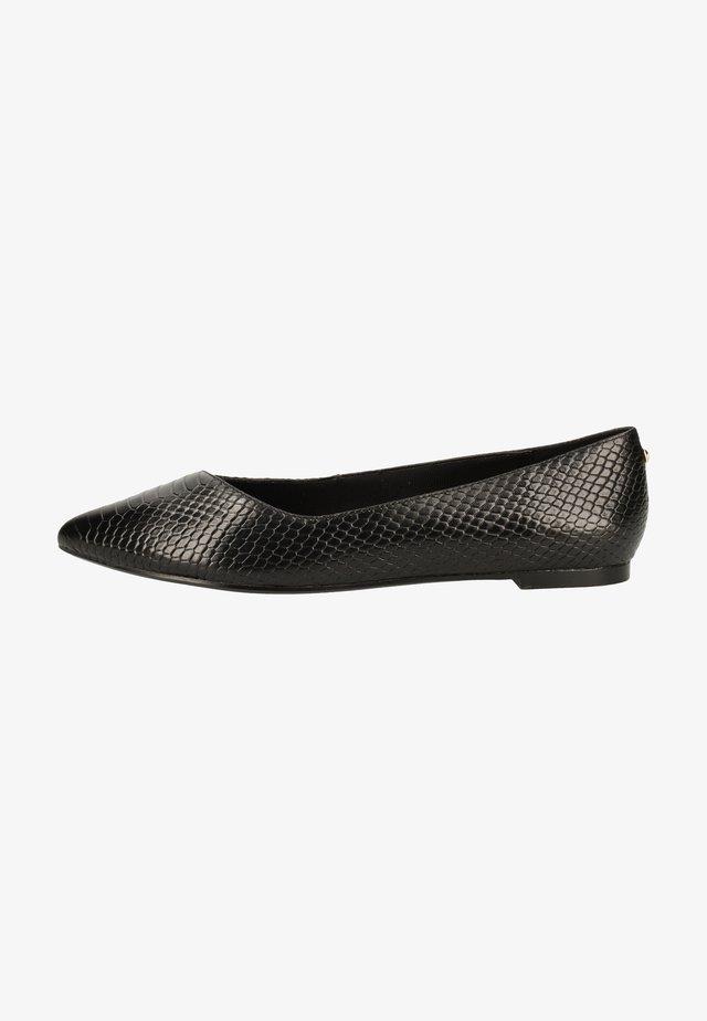 Ballet pumps - snake black