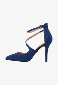 Buffalo - High heels - navy dark - 1