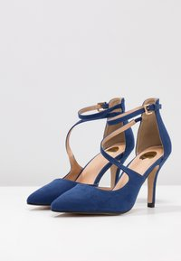 Buffalo - High heels - navy dark - 4