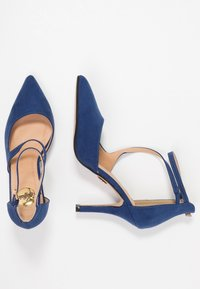 Buffalo - High heels - navy dark - 3