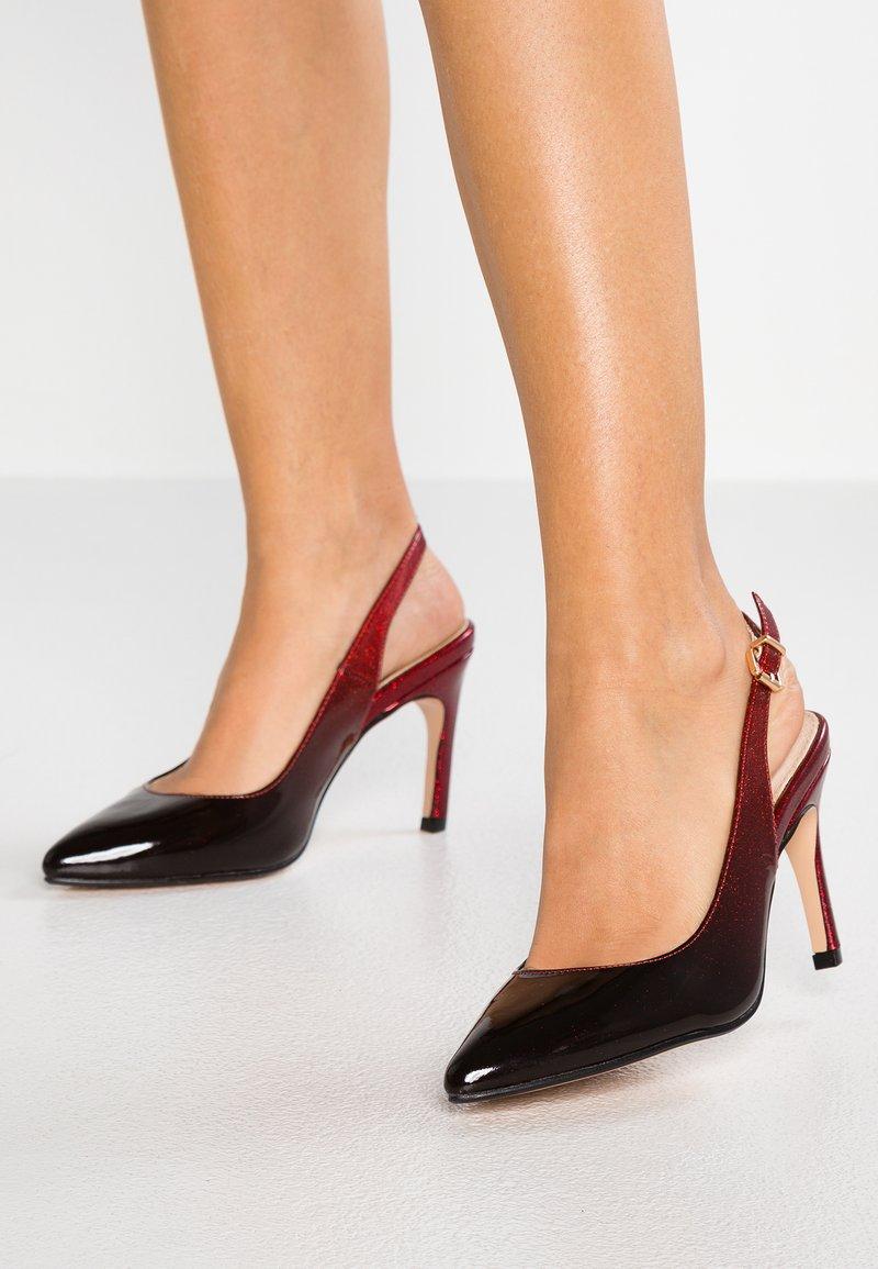 Buffalo - ALVA - High heels - black/red