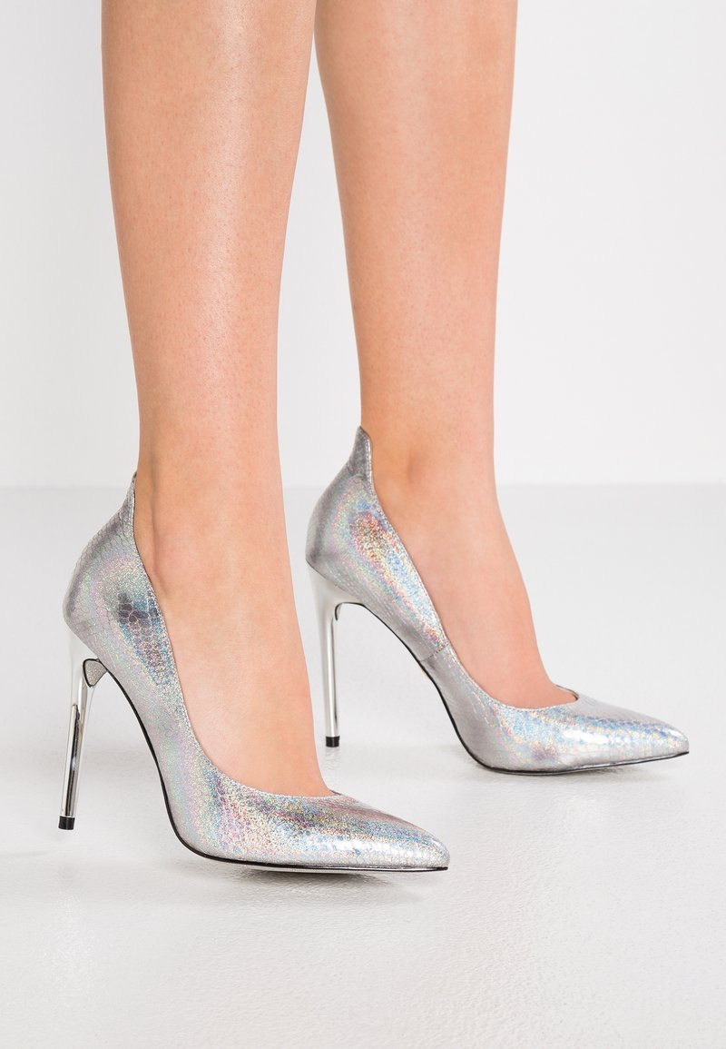 Buffalo - ANA - High heels - silver